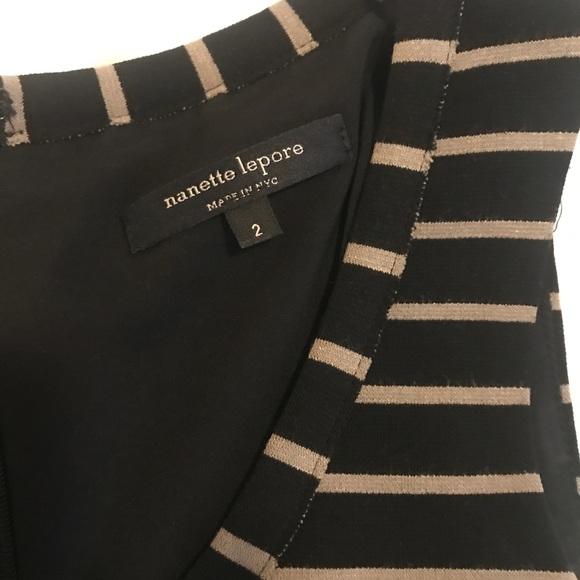 Nanette Lepore Dresses & Skirts - Nanette Lepore Striped A line Dress Size 2